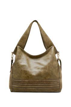 Bottom Weaved Shoulder Bag