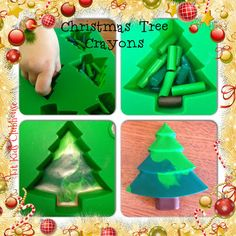 Clubhouse Christmas Crayons