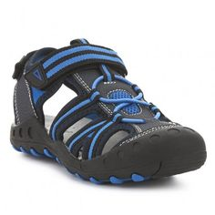 Sandalia deportiva TRAPPEUR Color Negra, Baby Shoes, Sneakers, Color Azul, Clothes, Products, Fashion, Sports, Vacations