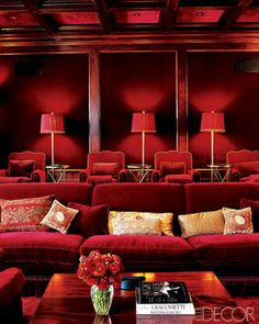 16 rooms that prove pink and red are NOT just for Valentine's Day.