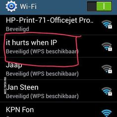Best #wifi #ssid I have seen in a while #lmao  #nerds #nerdhumor #helpdesk #it