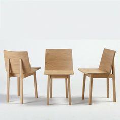 Wood chair - chaise en bois