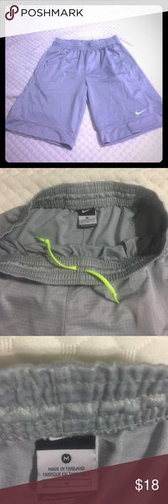 Men's Nike workout shorts Gray Men's Nike basketball shorts. EUC - Make me an offer! Nike Shorts Athletic