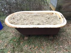 Bathtub Worm Bin – Old Man Stino