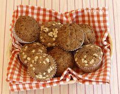 Magdalenas de espelta y azúcar de coco. bikisimas.blogspot.com
