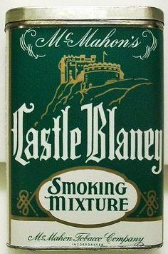 Pocket Tobacco Tin - Castle Blaney