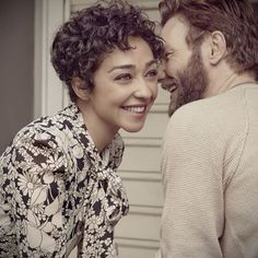 (Video on instagram) Love in black and white: #Loving stars Ruth Negga and Joel Edgerton cover this week's issue, also featuring Next Big Thing Genevieve Angelson, Ryan Seacrest Productions and 'Carrie's 40th anniversary. Hit the link in profile for more