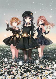 The most famous Korean female artist in Japanese manga / anime village - <°♡Bestiiiiies 4 ever ♡°> - Anime Chibi, Manga Anime, Fanarts Anime, Pretty Anime Girl, Beautiful Anime Girl, Kawaii Anime Girl, Anime Art Girl, Anime Girls, Anime Best Friends