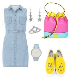 """Funny outfit for saturday morning."" by karlagrullon on Polyvore featuring moda, Joshua's, Moschino, Dorothy Perkins y The Horse"