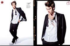 Charismatic Cool-Guy Fashion : elle men mexico