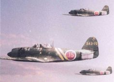 WWII Japanese Kawanishi N1K2-j Shiden Kai