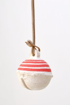 Bell Ornament - Red