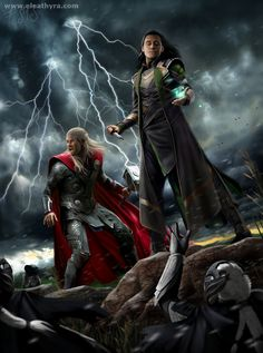Control and Chaos by eleathyra on deviantART ooooh, yes! All of this! XD and Loki's face! X) I am SO ready for Dark World!