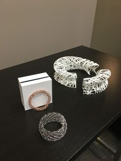Canadian designers Daniel Christian Tang showcase innovative 3D Printed Jewelry
