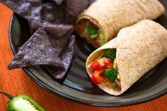 bountiful vegetable burritos | festive vegan tortillas dishes - burritos, tacos, fajitas and more | vegkitchen.com