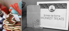 Sock Monkey: Baby Shower & Birthday Party Ideas - Design Dazzle