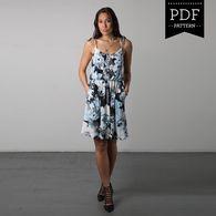 Saltspring Dress by Sewaholic Patterns, View A