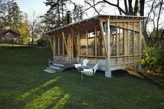 not really a shed, but very cool! M Valdes Architects - More home less house