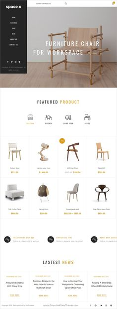 Ri Space is clean, minimal and powerful #WordPress Theme suitable for #furniture designers, #interior, photographers, architects, eCommerce websites download now➩  https://themeforest.net/item/spacex-interior-architecture-furniture-woocomerce-wordpress-theme/18702164?ref=Datasata