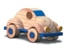 Anatina Toys - Running Beetle Car - Wooden Toy - Handmade & Eco-Friendly by Anatina Toys. $22.99. CPSIA, CE, and CHPTR compliant.. This beautiful toy is made from FSC certified wood and Non-toxic paint.. Recieve a FREE Gift with Purchase. Toy comes with an eco-friendly canvas backpack. Recommended for Ages: 7+ Dimensions: 9x3.5x3.9 inches.. Anatina Toys is an organization that strives to improve the qualitiy of life of Bolivian Artisans by creating worthy and permanent employme...