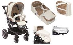 Teutonia Kinderwagen Mistral S V3 + Softtragetasche + Pflegetasche + Windschutz + Liegeflächenverlängerung 5230 Paris Romance - online kaufen | myPram