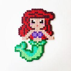 Princess Ariel perler beads by perler_art