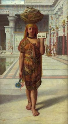 Offering to Isis, 1866  by Sir Edward John Poynter
