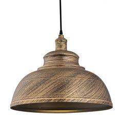 Φωτιστικό οροφής μεταλλικό χρώματος μπρονζέ