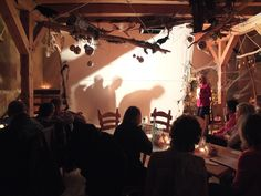 Es hat richtig Spaß gemacht! #Schattentheater als Teambuilding-Maßnahme kann wunderbar mit einer Weihnachtsfeier verbunden werden.
