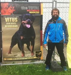 Thanks Oliver Rotti Neubrand for your assistance and help for a TTRM banner to be displayed at the ADRK KS. Congratulations on your excellent results at the show! Vitus V1 (champion class)