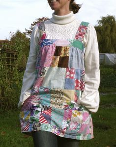 Smock Apron... NOW, I can garden in such!