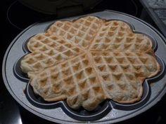 Waffel als Brotersatz (hefefrei) - Glutenfrei Backen und Kochen bei Zöliakie. Glutenfreie Rezepte, laktosefreie Rezepte, glutenfreies Brot