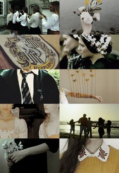 hp friendships ― hufflepuff &slytherin(requested by elli-jane-xox)