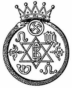 The Seal Of The Theosophical Society. Helena Petrovna Blavatsky.