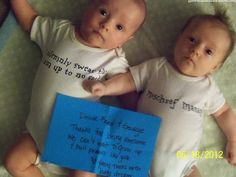 I CAN'T HANDLE HOW CUTE THIS IS!  Dear Fred & George, Thanks for being awesome. We can't wait to grow up & pull pranks like you. Love, Young twins with huge dreams.