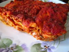 The Bolognese lasagna has six layers of ultra thin pasta, slathered with a wicked combination of bechamel sauce, mozzarella and Parmigiano Reggiano. The perfect decadent feast from Macella's Lasagneria and Cucina