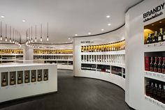 Diageo concept store by Fourfoursixsix, Bangkok store design