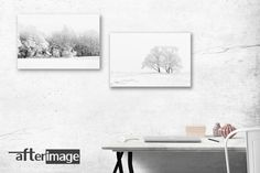 """""""Snowscapes"""" landscape themed photography canvas prints. Perfect as a gift or buy them for your home or office decoration. From R600 for a set of 2 x canvasses including FREE delivery anywhere in South Africa. #art #wallart #photographyprints #photographyart #canvas #canvasart #walldecor #homedecoration #snowscapes #landscapes #naturephotography"""