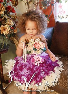 Her Royal Highness... The Divine Feather Apron Tutu Dress - $184.00 :: Love Baby J Boutique - Welcome to Love Baby J Couture - Boutique Clothing For Girls