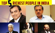 Top 5 Richest People In India, Mukesh Ambani, Dilip Shanghvi, Azim Premji - Hello Travel Buzz