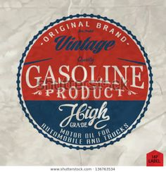 Find Vintage Gasoline Retro Signs Labels Gas stock images in HD and millions of other royalty-free stock photos, illustrations and vectors in the Shutterstock collection. Gas Pumps, Old Signs, Gas Station, Royalty Free Stock Photos, Retro, Vintage, Vectors, Garage, Logos