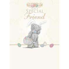 Special Friend Me to You Bear Easter Card  £1.69