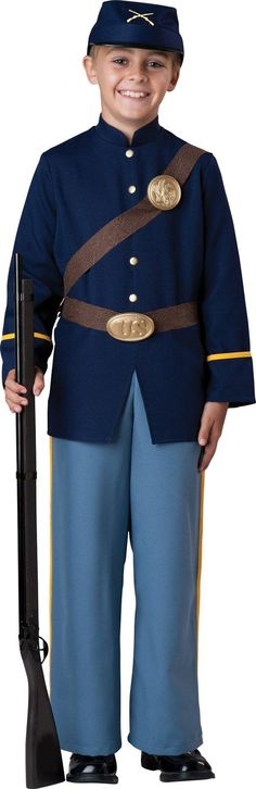 Civil War Soldier Child Costume from Buycostumes.com