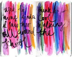 @julia_t | Season of Music | Get Messy Art Journal