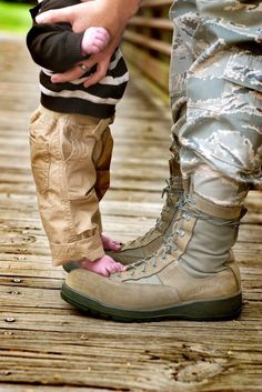 soldier's welcome home from baby son     #america