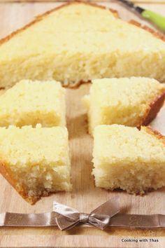 Basbousa or Semolina Cake – Egyptian/Mediterranean dessert | Cooking with Thas