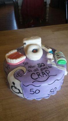 Over 50 cake
