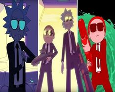 Rick and Morty go all Pulp Fiction as they star in new music video for Run TheJewels