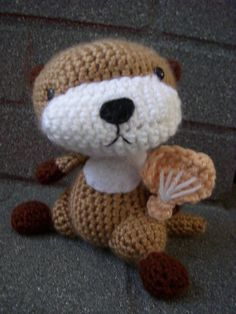 otter! Then I'll make a box home for it, so it will be a otter in a box! If I knew how to crochet…
