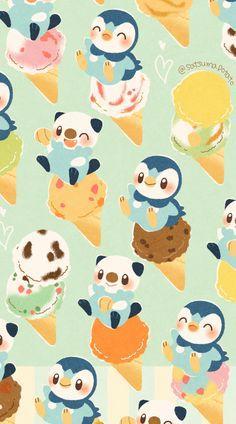 Pokemon Backgrounds, Cool Pokemon Wallpapers, Cute Pokemon Wallpaper, Cute Backgrounds, Kawaii Wallpaper, Cute Cartoon Wallpapers, Pokemon Eevee Evolutions, Mega Pokemon, Pokemon Memes